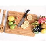 Het gezonde Houten Hakbord van het Gebruik met Groef voor het Knipsel van het Fruit