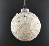 Ornamento de la Navidad con la bola de cristal en el árbol (LCP-A-0002)