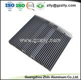 Profil en aluminium d'extrusion pour le radiateur de réverbère de DEL