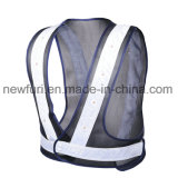 De goedkope Eenvoudige Weerspiegelende Kleren van het Vest van de Veiligheid van het Netwerk van de Band van 2.5cm 50g