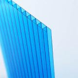 Proteção de chuva para a placa da parede do gêmeo da folha do policarbonato do painel de Windows