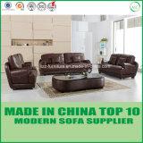 Miami-Büro-Möbel-Leder-Sofa mit Feder