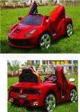 Passeio modelo dos miúdos dos brinquedos das crianças de R/C Ferrari no carro