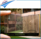Belle apparence cristalline CAD en PVC transparent en plastique transparent