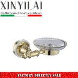 Gli accessori di lusso della stanza da bagno del bicromato di potassio dell'oro hanno impostato con 6PCS