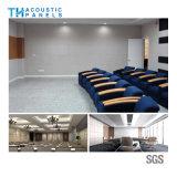 Teto Soundproof decorativo interior amigável da fibra de poliéster de Eco para o quarto de reunião