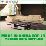 Sofa faisant le coin sectionnel moderne bon marché de cuir de bureau de meubles antiques