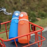 Складная бутылка воды силикона доказательства утечки для спортов сь Hiking напольное перемещение