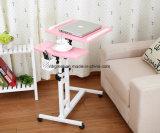 Регулируемая завальцовка над таблицей стола компьтер-книжки кровати для кровати/кресла