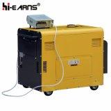 공냉식 침묵하는 유형 디젤 엔진 발전기 (DG8500SE+ATS)