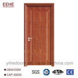 Simple Design Interior Bedroom Wooden Door