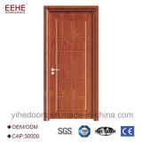 Portello di legno della camera da letto interna di disegno semplice