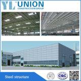 De de milieu Prefab Lichte Fabriek van de Bouw van de Structuur van het Staal/Bouw van het Pakhuis