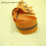 3# металлический закрытый конец старинной молнию с никель зубьев для одежды