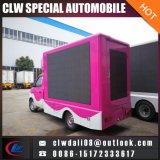 Piccolo camion di pubblicità esterna, camion di pubblicità mobile con lo schermo di P8 P10 LED