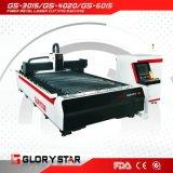 Machine de découpage de laser de fibre en métal avec du ce, conformité GS-3015 d'OIN