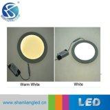 Luz del panel fija del conducto cuadrado doble LED de los colores de la calidad 3000-6500K