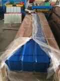 Синий цвет металлические кровельной плитки лист с высоким качеством