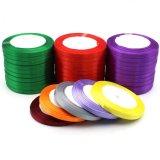In het groot Lint 100% Lint 196 van het Satijn van de Polyester Beschikbare Kleuren