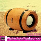 P7 Le baril de bière Avertisseur double haut-parleur Bluetooth sans fil