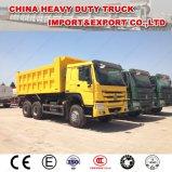 Sinotruk HOWO 6X4 Zz3257n3647b Wd615.47 371HP 20cbmのダンプトラック