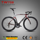 Kohlenstoff 700c Gabel Shimano Ultegra 6800 Laufenfahrräder der Straßen-22speed