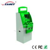 De dubbele Multifunctionele Openlucht Interactieve Kiosk van het Scherm met de Betaling van de Printer en van het Contante geld van het Kaartje