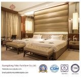2인용 침대 (YB-809)로 놓이는 주문 호화로운 호텔 침실 가구