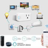 저가를 가진 APP 원격 제어 무선 WiFi 소켓 Alexa 지능적인 플러그