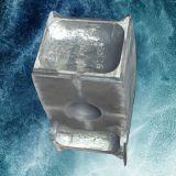Acier large coulée gouvernail de direction supérieure avec une haute qualité