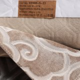 Флористическое связанное ощупывание ткани 2018 мягкое в цвете Brown (YN008-6)