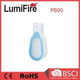 La sécurité de l'aimant souple en silicone Hand-Free LED clignotante Clip pour la vente d'éclairage