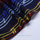 Écharpe de mode estampée par piste normale de bonne qualité de coton (Hz210)
