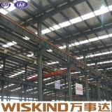 Almacén fácil industrial de la estructura de acero de la instalación del calibrador ligero prefabricado