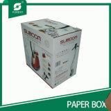 Contenitore di trasporto stampato colore brandnew di cartone ondulato con la maniglia