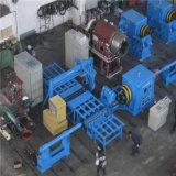 Seamless tanque de gas cilindro de GNC máquina de hilar en caliente
