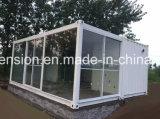 Chambre préfabriquée/préfabriquée de conteneur modifié par coût bas moderne mobile