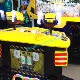 Macchina a gettoni del gioco della galleria di vendita di colore giallo dei giocatori caldi del robot 2 per i capretti