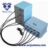 4bands l'alto potere registrabile il GSM CDMA 3G 4G personalizza l'emittente di disturbo del segnale di frequenza
