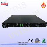 Transmisión Hot-Pluggable óptica del transmisor 2*7dBm Sbs16 el 100km de la modulación externa de CATV 1550nm