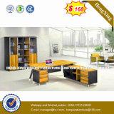 중국 사무용 가구 유리제 최고 금속 행정실 책상 (HX-D9030)