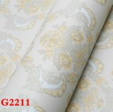 Paño de pared del PVC, papel pintado del PVC, Wallcovering, papel de empapelar del PVC, tela de la pared del PVC, papel pintado del PVC