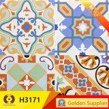 花の寄木細工の床の床タイルの壁のタイル(H31210)