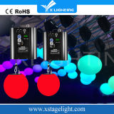 LEIDENE DMX van de Krukken van de Leverancier van China van RGB LEIDEN Bal van de Lift Kinetisch Licht