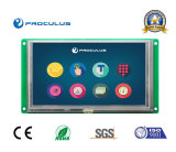 6.2'' 800*480 TFT LCD with Resistive Touch Screen for Printer Machine