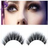 El ojo grueso largo natural de la extensión del maquillaje azota latigazos falsos falsos naturales del ojo del visión verdadero del 100%