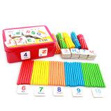 아이 장난감을 배우는 나무로 되는 지팡이 냉장고 자석 수학 대화식 게임