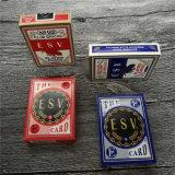 Tarjeta de encargo del póker de las tarjetas que juegan del póker
