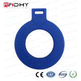 ABSはRewritable T5577 125 kHz RFIDのアクセス制御Keyfobを防水する