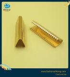Caisson en laiton de la Dentelle Conseils pour l'extrémité du cordon des conseils avec logo personnalisé pour les chaussures